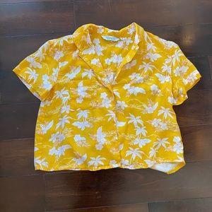 Cropped Hawaii Shirt